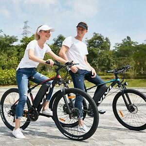 "Bici Elettrica 27.5"" Bicicletta Elettrica Pedalata Assistita Uomo Mountain Bike"