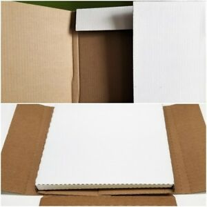 "Combo 25 LP MAILERS + 25 45rpm Cardboard Shipping Boxes 12"" Vinyl Record Album"