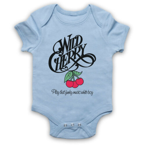 WILD CHERRY UNOFFICIAL PLAY THAT FUNKY MUSIC BOY FUNK BABY GROW BABYGROW GIFT