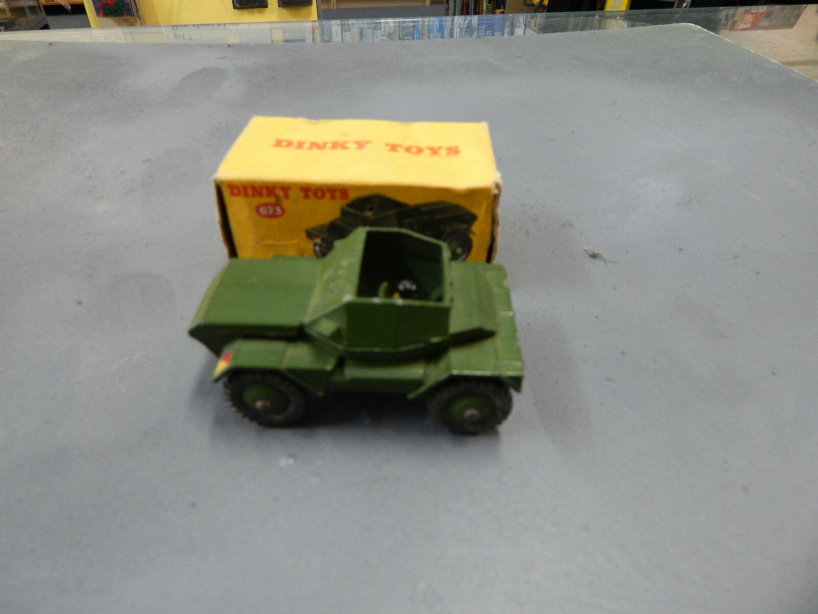 Dinky Scout Car with box