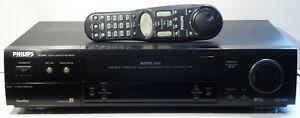 S-VHS-Videorecorder-Philips-VR1000-6-head-HiFi-Stereo-gewartet-1-Jahr-Garantie