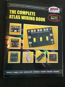 ATLAS-THE-COMPLETE-WIRING-BOOK-all-scales-train-o-ho-n-g-gauge-lionel-mth-ATL12