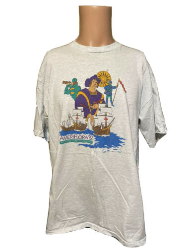 Vintage 1992 AMERIFLORA Christopher Columbus Singl