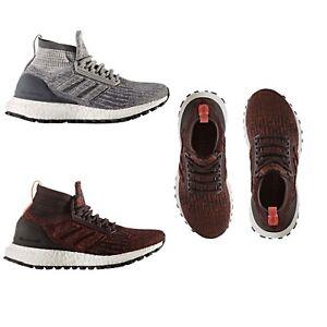 Adidas Kids Boys Ultraboost All Terrain JR PrimeKnit Lace Up Running ... fd580de93