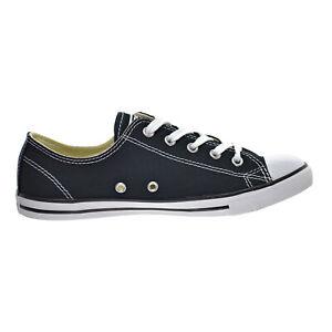 recuerdos cruzar Responder  Converse Chuck Taylor All Star Dainty Low Top Womens Shoes Black 530054f    eBay