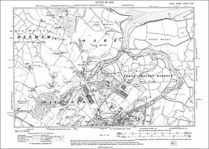 OLD ORDNANCE SURVEY MAPS NORTH KENT COAST FAVERSHAM WHITSTABLE 1878 SHEET 273