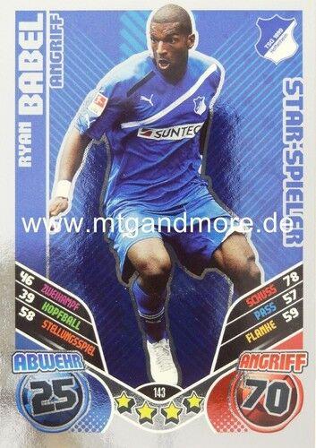 Match ATTAX 2011//2012 ryan Babel #143 star-joueur