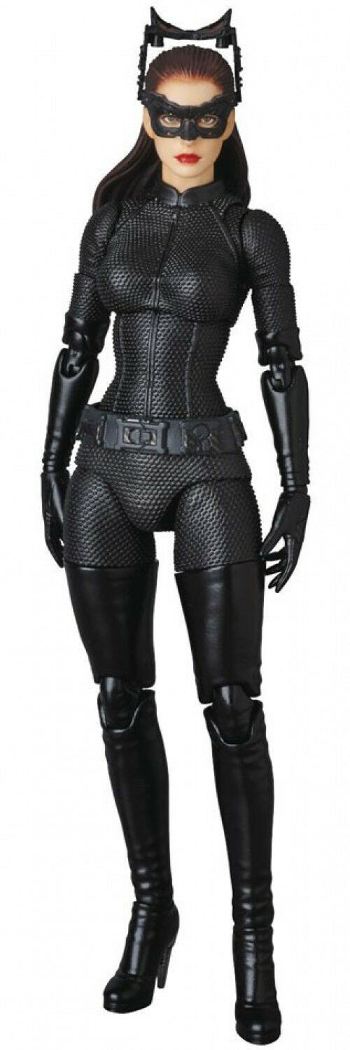 DC The Dark Knight Rises Rises Rises MAFEX Selina Kyle Catwoman Action Figure [2.0 Version] 613ef6