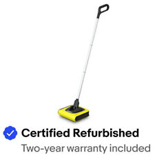 Karcher Certified Refurbished KB5 Cordless Sweeper, Yellow