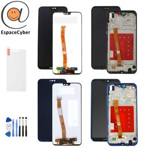 LCD-Ecran-tactile-Huawei-P20-Lite-Noir-ANE-LX1-avec-sans-Chassis-Frame