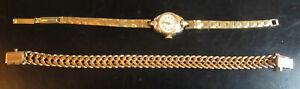 montre et bracelet anciens poinçons plaqué or