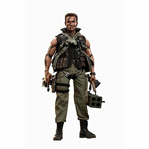 Movie Masterpiece Commando John Matrix plastic painted movable figure Hot Toys