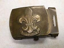 Swedish Boy Scout Belt Buckle