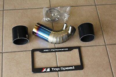 Top Speed Pro-1 TITANIUM Air Intake Pipe Upgrade for Lexus GSF V8 Sedan 16-17
