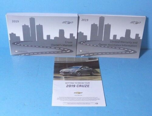 19 2019 Chevrolet Cruze owners manual BRAND NEW
