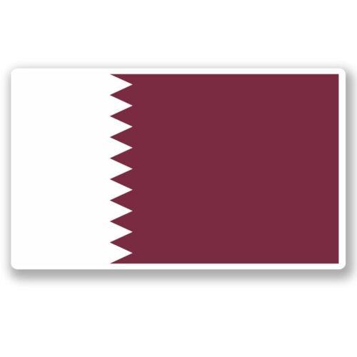 2 x Qatar Doha Vinyl Sticker Laptop Travel Luggage Car #5403