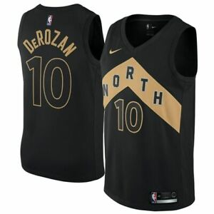 reputable site f7554 440a7 Details about Toronto Raptors NBA jersey by Nike - DeRozan 10 junior S (age  8-10)