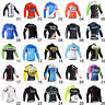 New Men's Cycling Clothing Breathable Cycle Jerseys Long Sleeve Bicycle Jackets