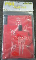 Ati Pro 3 Piece Bmx Pad Set/red With Cool Logo /brand New/looks Great