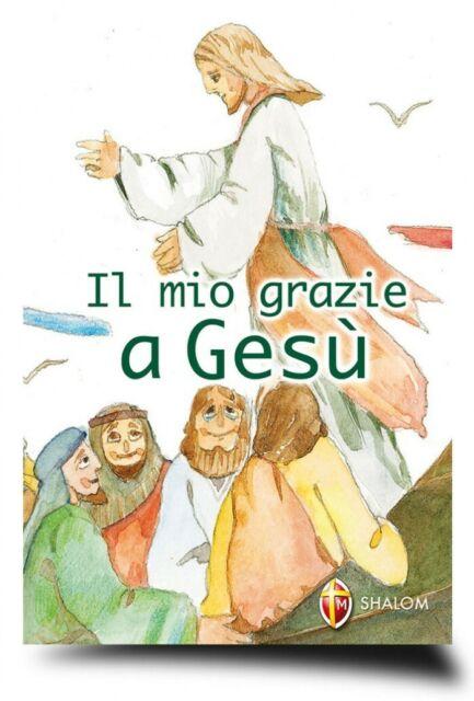 Libro Il mio Grazie a Gesù, 9788884042378, editrice shalom