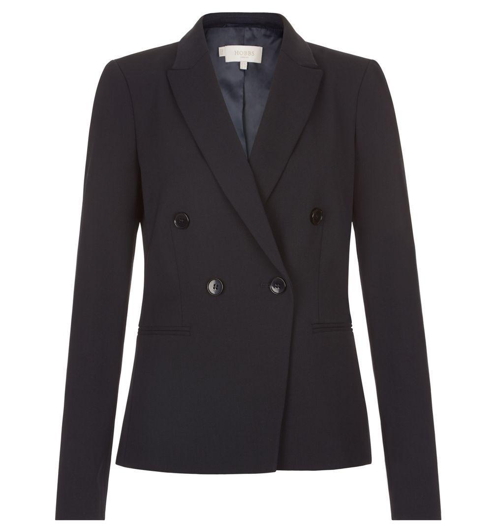 Ex Branded damen Coralyn Navy Jacket Blazer Größe 6 8 10 12 14 16