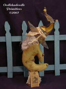 Ealdgyth The Witch Primitive Halloween Makedo Harvest Decor PATTERN