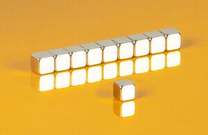 10-starke-Neodym-Magnete-5-x-5-x-5-mm-Wuerfel-N45-5x5x5mm