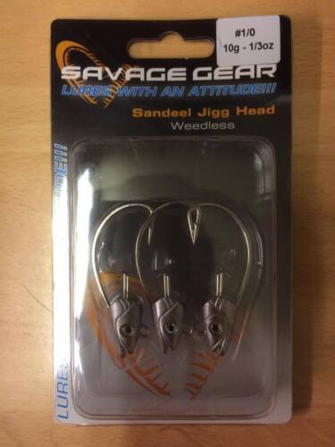 Combo Body Pack Complete Lures Savagear Savage Gear Sandeel Jig Heads