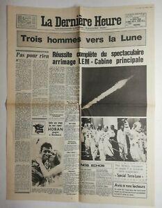 N558-La-Une-Du-Journal-La-derniere-heure-17-juillet-1969-trois-hommes-vers-lune