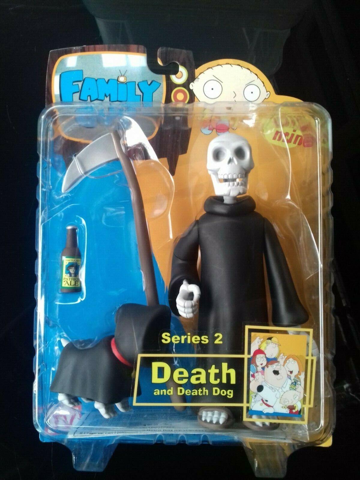 Mezco Family Guy Series 2, Death and Death Dog, Skull Head Variant