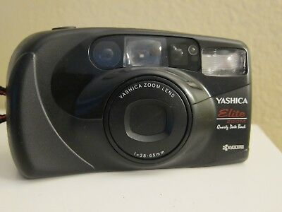 Yashica Elite Zoom 105 35mm Camera QD