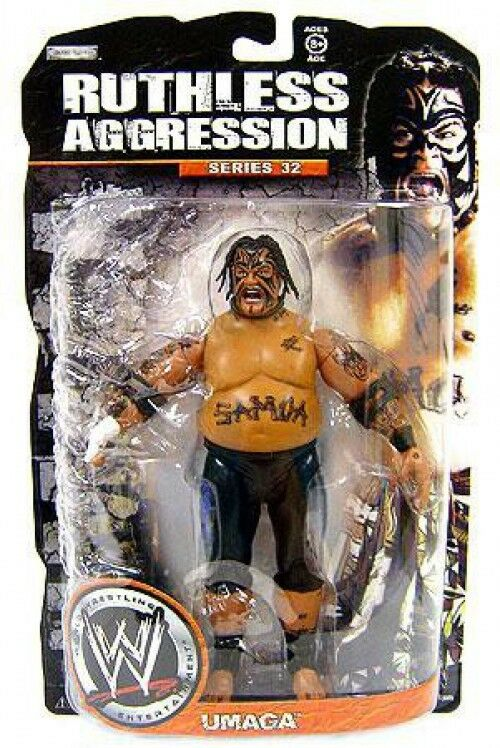 WWE Wrestling Ruthless Ruthless Ruthless Aggression Series 32 Umaga Action Figure 396d8f