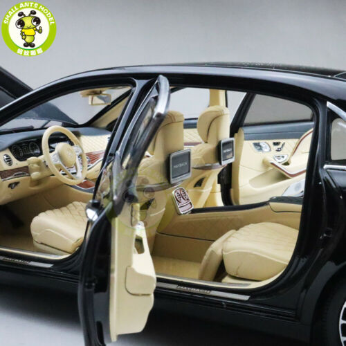 1//18 Benz Maybach S CLASS S650 Almost Real Diecast Model Car Toys Gifts Black