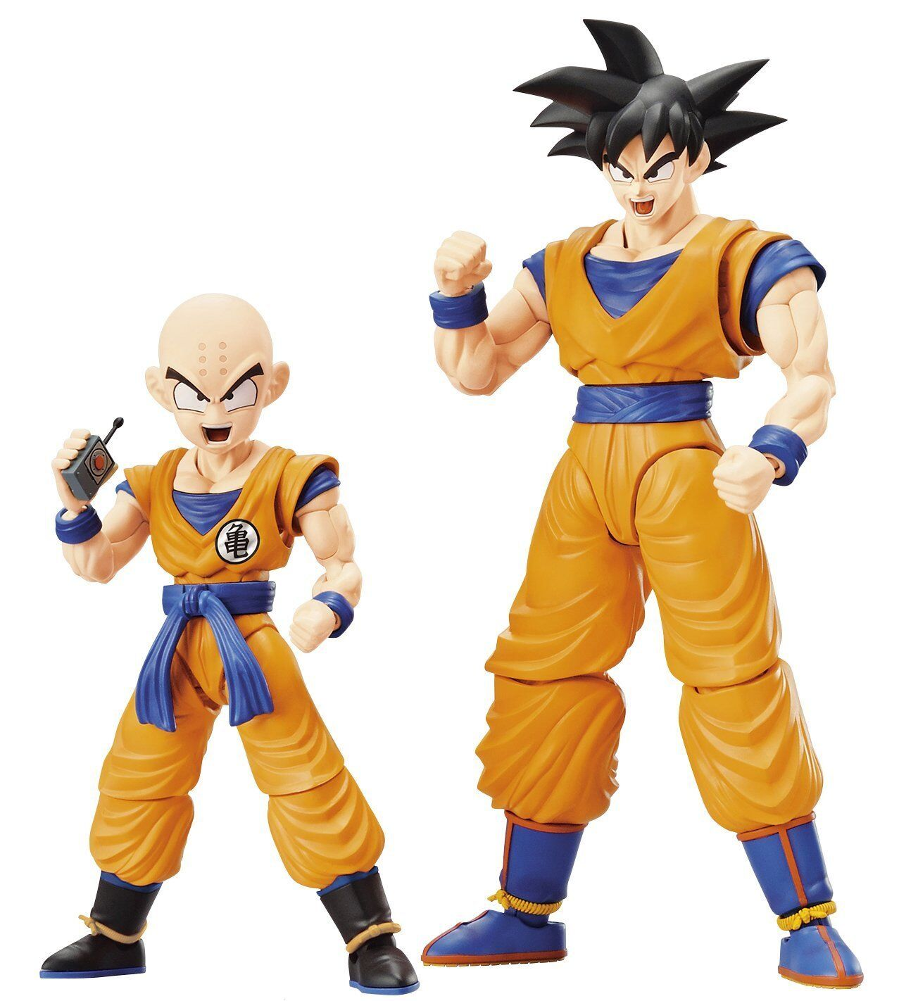 BANDAI Figure Rise Standard Dragon Ball Son Goku & Kuririn DX Japan F/S