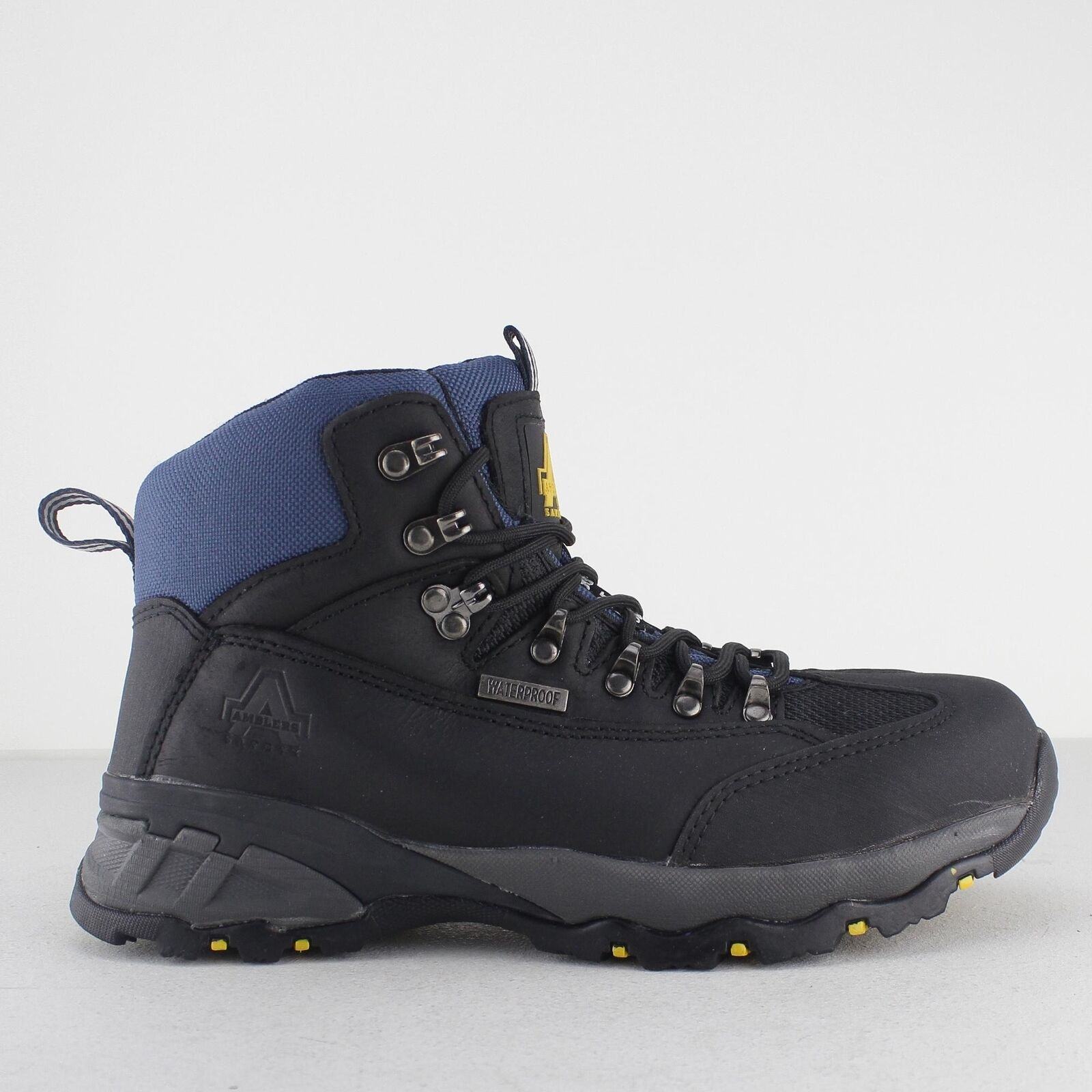 Amblers Safety FS161 Unisex Mens Ladies Womens SB Waterproof Safety Boots Black