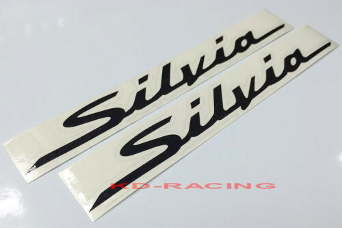 Silvia Sticker Decals Nissan S14 S15 240SX FREE SHIPPING x 2