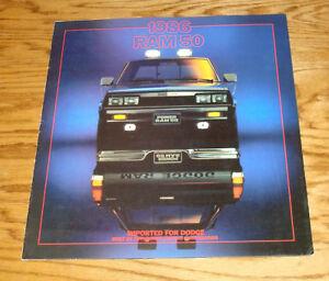 1986 dodge truck models