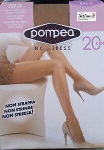 6-CALZE-COLLANT-POMPEA-TOP-20-DEN-BASIC-NO-STRESS-SETIFICATO-OPACO
