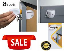 Magnetic Child Safety Lock System Set Of 8 Locks And 2 Keys Toddler-Tested