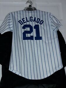 online store a340a 48e62 Details about Carlos Delgado New York Mets shirt MLB NY Met Majestic  baseball Jersey 》 Youth S