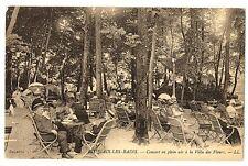 CPA 73 Savoie Aix-les-Bains Concert en plein air à la villa des Fleurs animé