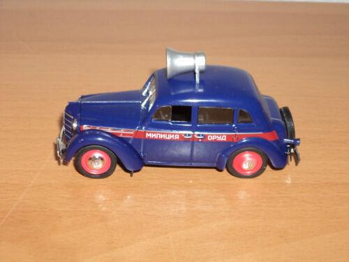 Polizeiauto 1:43 # 21 Sammlung Russisches Modellauto von DeAgostini