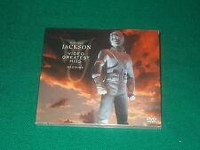 Michael Jackson history vol. 1 special italian edition dvd in cd format