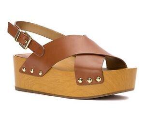 425e8080f32 Image is loading Sam-Edelman-Bentlee-Women-Platform-Sandal-Saddle-Leather-