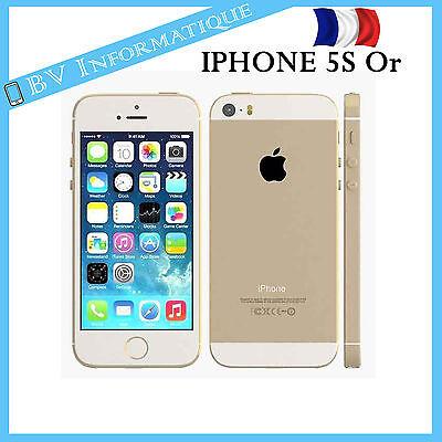"""APPLE Iphone 5S 16 Go OR- """"DÉBLOQUÉ TOUT OPÉRATEUR"""" Garantie 6 mois"""