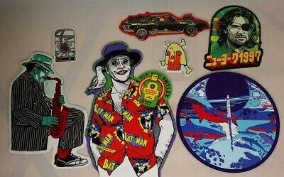 Tyler Stout LE Sticker Lot D Bat Man Joker Alien Shark Jazz Sax Movie Print Art