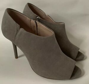 Next-Grey-Suede-Peep-Toe-Heels-BNWT-UK-Size-6-5-Smart-RRP-40
