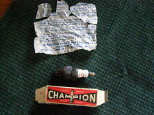 6COM NOS Champion Spark Plug & Box Gas Engine one of the nicer, Free Shipping 4U