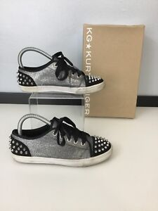 36 Kurt Uk scarpe Black Geiger Kg Trainers Pumps Size Womens Studs Eu 3 Silver dxvnxqP0