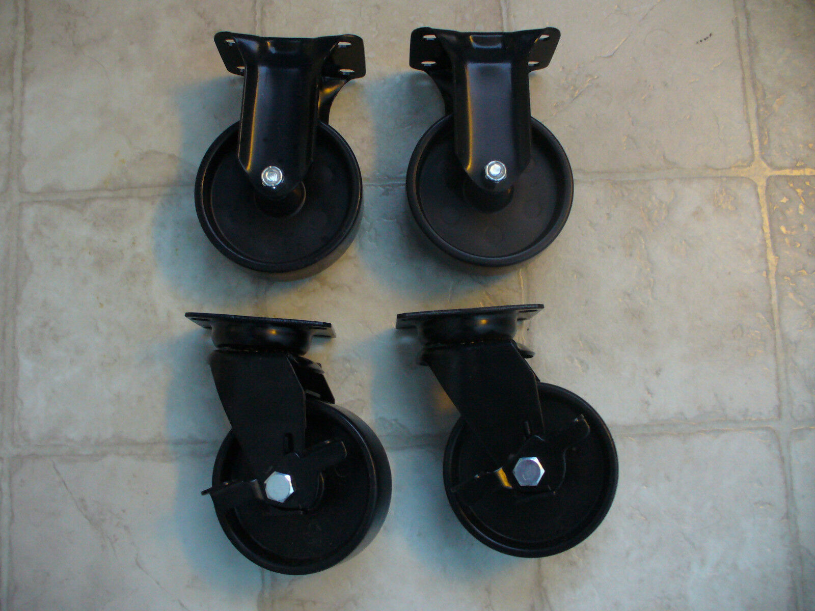 Husky Tool Box Casters 4 3 8'' Diameter